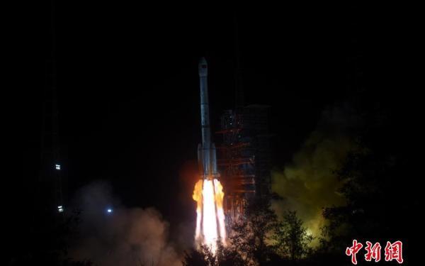 Lancering van de Chang'e 4 op 7 december 2018