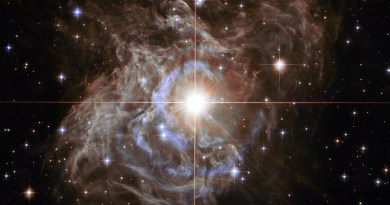 RS Puppis, gefotografeerd door de Hubble Space Telescope