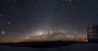 De Kleine en Grote Magelhaanse Wolken