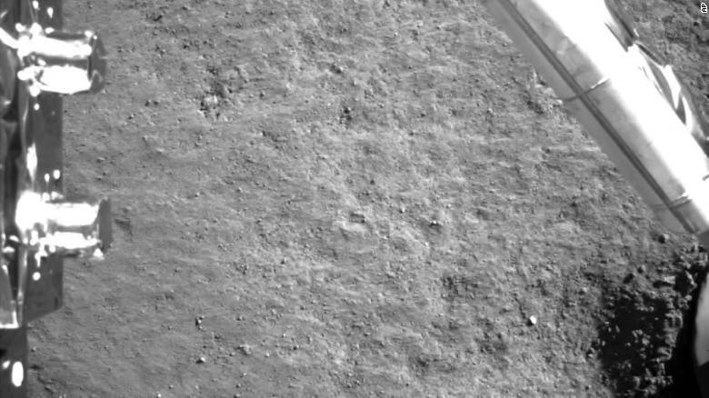 Chang'e 4 geland op de Maan