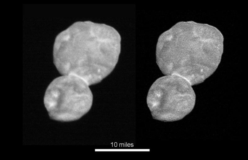 Ultime Thule, gefotografeerd door de New Horizons ruimtesonde