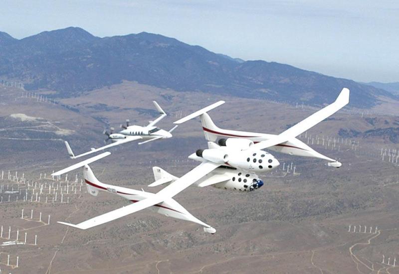 SpaceShipOne en WhiteKnighOne