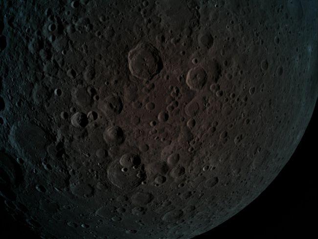 Beresheet fotografeert de verre zijde van de Maan
