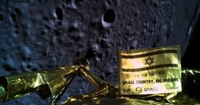 Beresheet crasht op de Maan