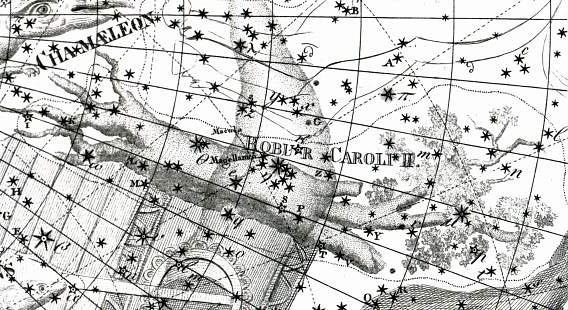 het sterrenbeeld Robur Carolinum