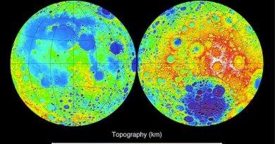 Navije en verre zijde van de Maan