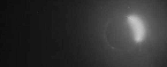 Afbeelding van de gedeeltelijke zonsverduistering van 1900