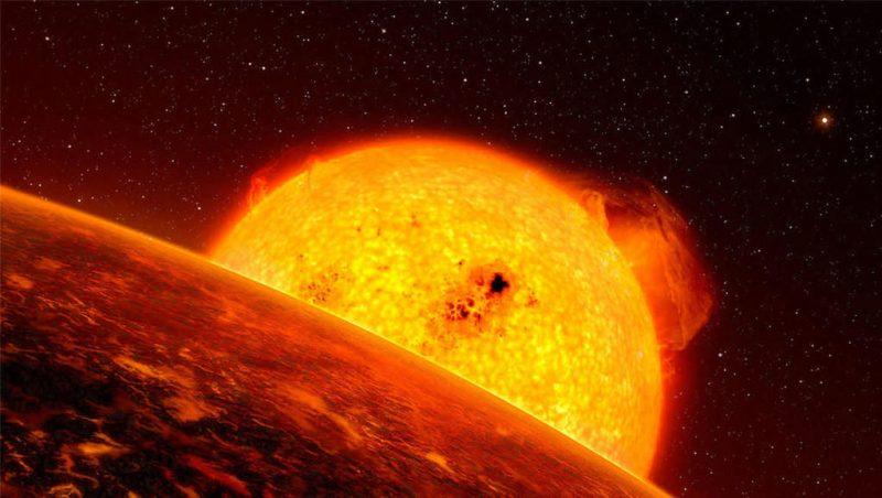 aertist impression exoplaneet