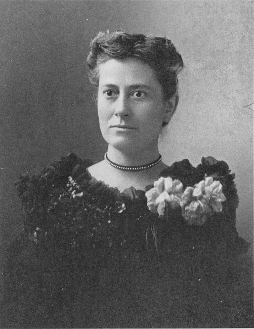 Williamina Fleming omstreeks 1890.