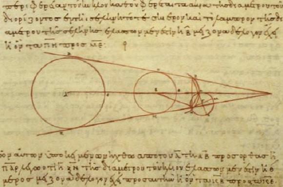 Aristarchus - berekeningen