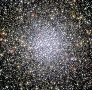 47 Tucanae in het sterrenbeeld Tucana