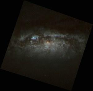 NGC 3593 in Leo