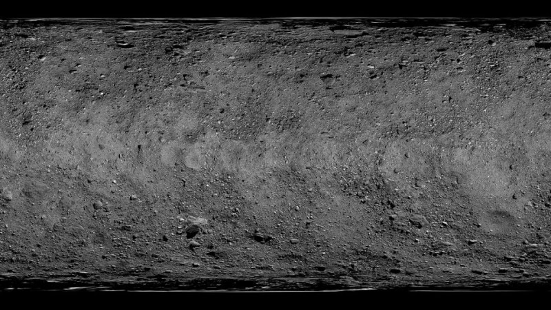 De gedetailleerde kaart van asteroïde Bennu