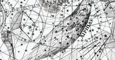 Dorado uit de Uranographia an Johann Bode