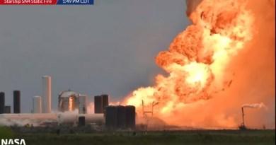 Starship SN4 explodeert
