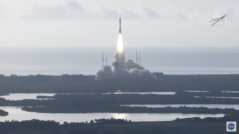 Lancering van de Perseverance rover naar Mars