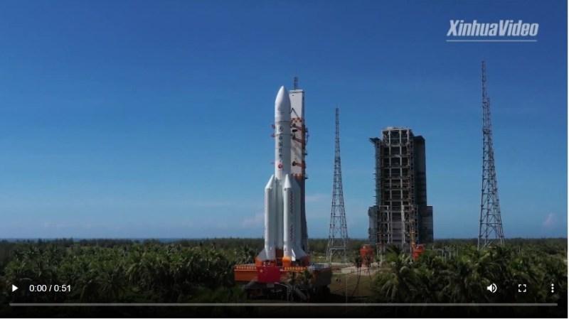 Tianwen-1 klaar voor lancering naar Mars