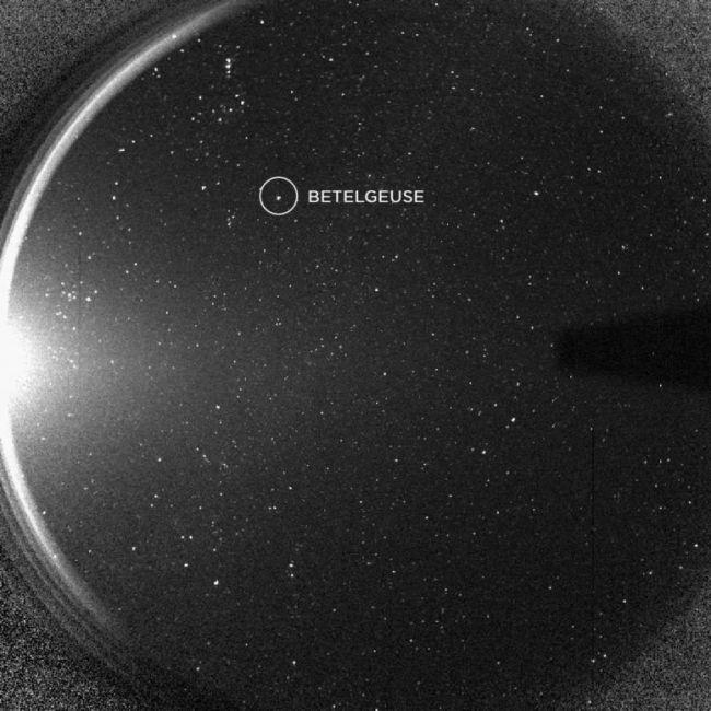 STEREO-afbeelding van de ster Betelgezue