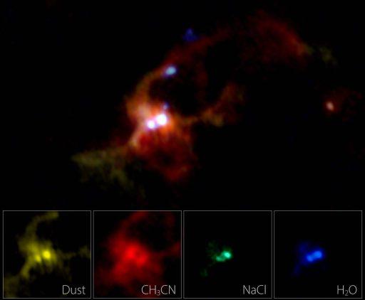 ALMA-opname van IRAS 16547-4247