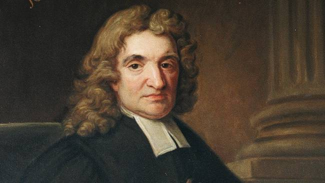 John Flamsteed (19 August 1646 – 31 December 1719). Credit: Jesus College - Cambridge University