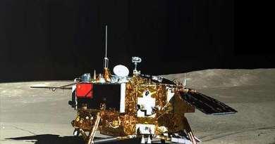 De Chinese maanlander Chang'e 4