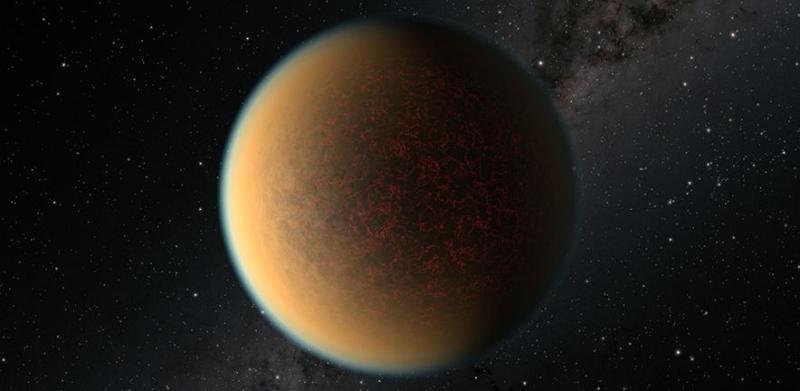 De exoplaneet Gliese 1132 b