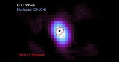 Methanol bij HD 100546 gevonden