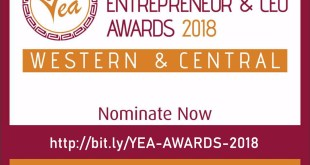 YOUNG ENTREPRENEURS AND CEOs AWARDS (#YEA2018): Call For Application