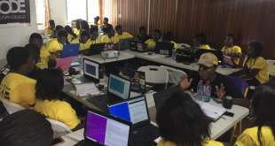Django Girls trained 30 young women programming in Sekondi-Takoradi