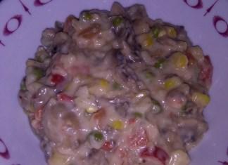 Povrće u bešamel sosu