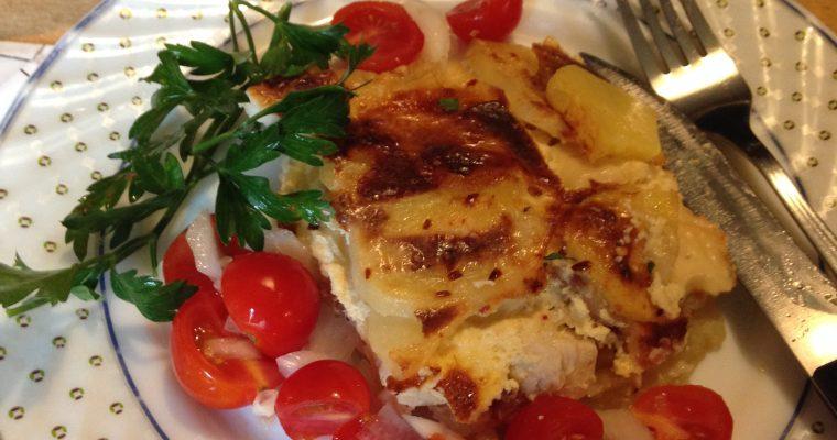 Musaka sa piletinom i sirom-jednostavna i jako fina