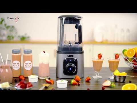 Kuvings Vacuum Blender – Banana Smoothie
