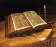 SStill Life with Bible, Oil on Canvas [source: unknown]