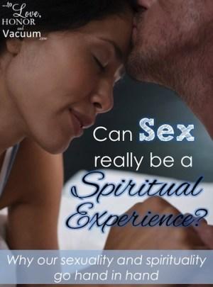 Sex Is Spiritual