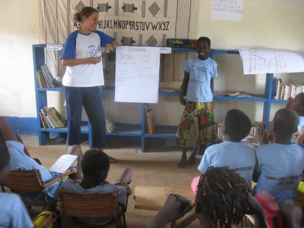 tutoring in africann villages