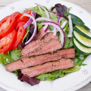 Summer Salad Series: Chipotle Steak Salad