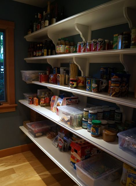 Kuzak's Closet Organized Pantry, What a Beautiful Site!