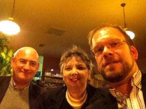 Peter Vukics und Elly Wright bei uns in Rudolfsheim.   (Foto: Dietmar Baurecht)