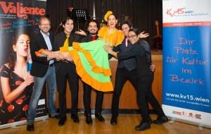 Mit Valiente konnten die Mitglieder des KV15.Wien | Kulturverein Rudolfsheim den Valentinstag begehen (Foto: Reza Sarkari).