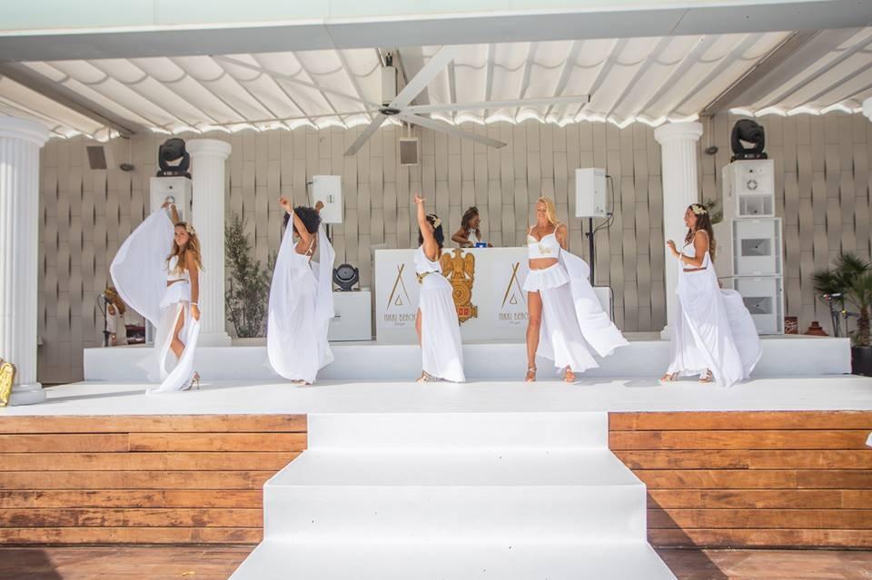 White Party Nikki Beach Ibiza References KV2 Audio