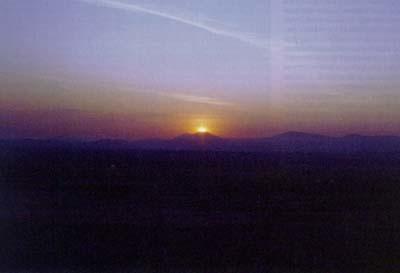 Pogled z vrha Piramide Sonca