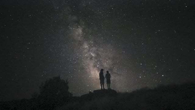 Čudovito avgustovsko nočno nebo