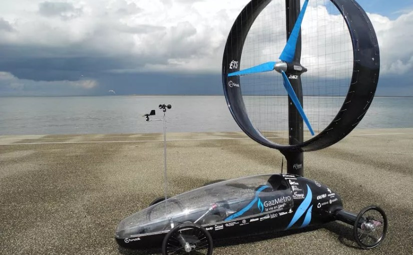 Kvaser Sponsors Chinook ETS Wind-Powered Car