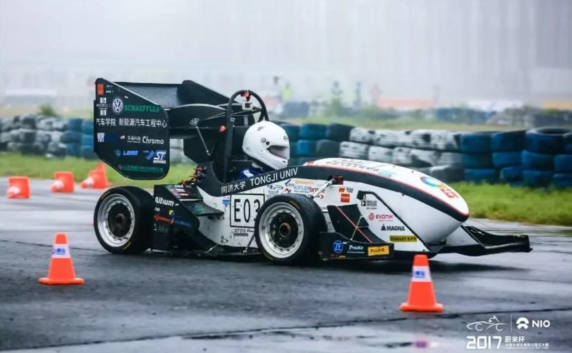 Tongji DIAN Racing Uses Kvaser Memorator: Ranks Top in the 2017 FSEC