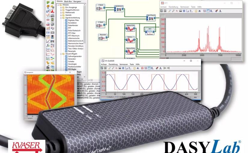 Kvaser adds measX as technical associate; DASYLab® supports Kvaser