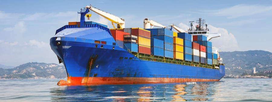 Types of sea freight transportations