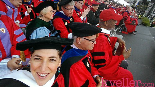 mayim bialik honorary degree bu