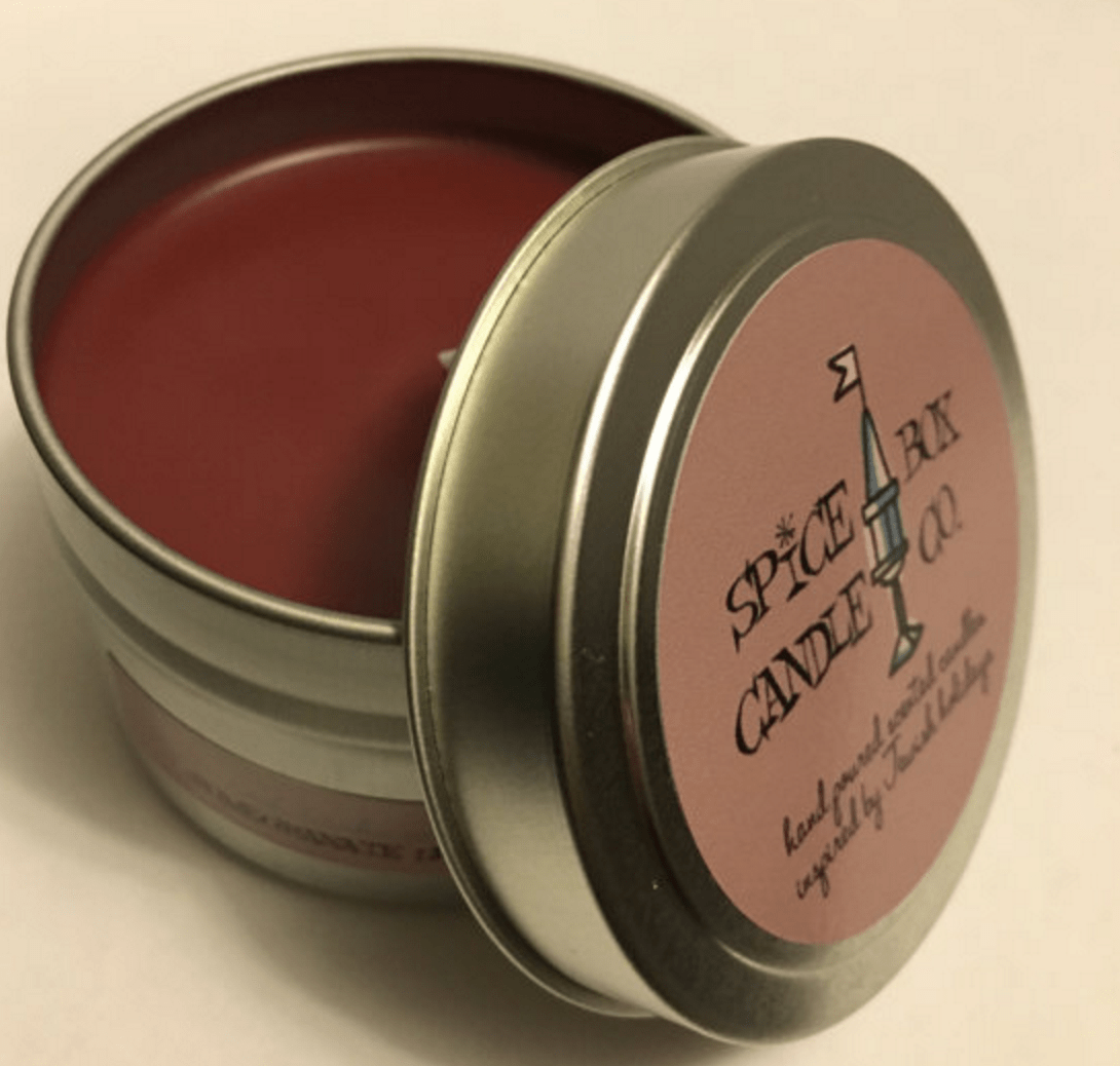 pomegranate candle