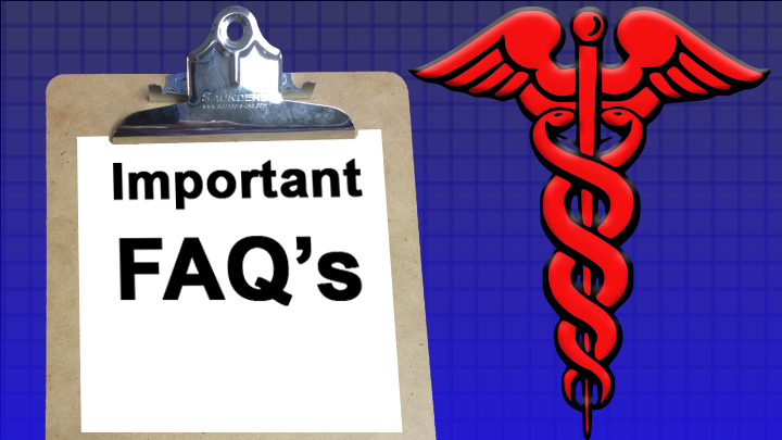 important FAQ healthcare 720