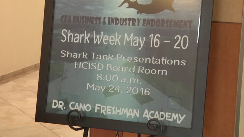 Shark Tank Project takes over HCISD Freshman Students_21680982-159532
